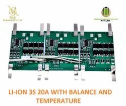 BMS 3S 20amp NMC With Balance And Temperature