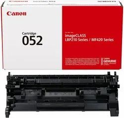 Canon Genuine Toner Cartridge 052 Black