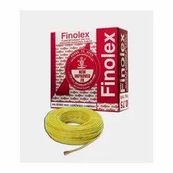 0.75 Sq Mm Finolex Flame Retardant PVC Insulated Yellow Cable