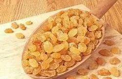 Packed Golden Small Raisins, Packaging Type: Plastic Box, Packaging Size: 250 Gram