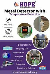 Metal Detector With Temperature Detector