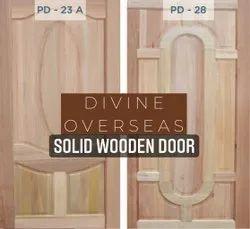 Solid Wooden Door: 100% Hardwood Door