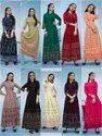 Fancy Ladies Indian Wear Long Gown Kurti