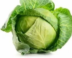 Green A Grade Organic Fresh Cabbage, Pesticide Free  (for Raw Products)