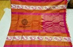 Pure Zari Wedding Silk Sarees