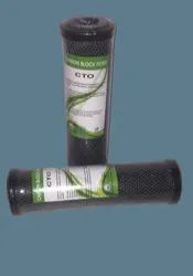 Black 10 CTO Carbon Filters Cartridge, For Water Filter