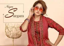 Cotton Green Sargam Nayra Readymade Dress, Size: S M L Xl Xxl 3Xl