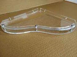 Acrylic Corner Shelf Heart (10 Inches)