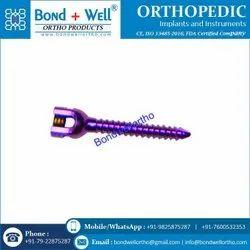 Orthopedic Mono Axial Screw