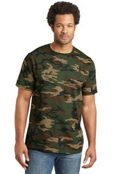 Men Half Sleeves Camouflage T-Shirt
