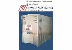 SWEDINOX Gelato Vertical Batch Freezer SVG10 - Made In India