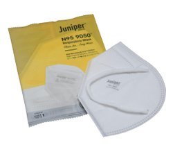 White Juniper N95 9050 Respirator Reusable Face Mask, Number of Layers: 5 Layer