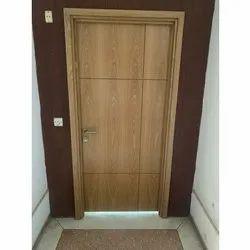 Glossy Bedroom Wooden Door, Design/Pattern: Plain