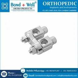 Orthopedic Implants Twin Adjustable Clamp