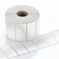 White 50x50mm Polyester Label, For Garments