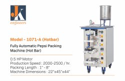 Fully Automatic Pepsi Packing Machine (Hot Bar)