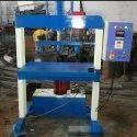 Hydraulic Double Die Paper Thali Making Machine