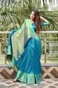 Leranath Fashion Printed Heavy Silk Indian Wear Saree, With Blouse Piece, 5.5 M (separate Blouse Piece)
