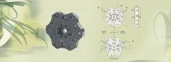 温和的钢驱动12站两个间距直径,用于数控机械