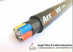 Submersible Unarmored  Round Aluminium Cables, Packaging Type: Drum & Bundle