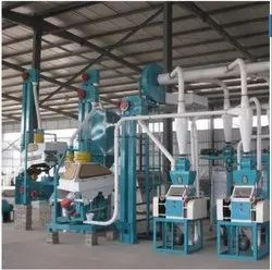 Automatic Mild Steel Industrial Flour Mill Machine