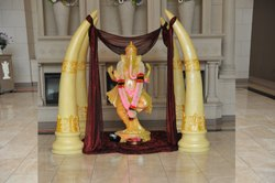 Ramnath Welcome Ganesha wedding decorations