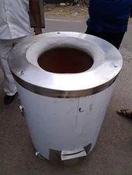 Stainless Steel SS Round Tandoor, For Restaurant
