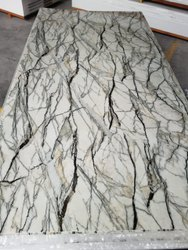 Meraki White And Black PVC Marble Sheet, For Home,Office, Thickness: 1.5 mm