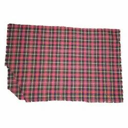 Checked Home Furnishing Check Cotton Fabric, GSM: 150 gsm