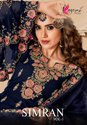 Kesari Trendz Simran Vol-1 Georgette With Heavy Embroidery Work Suits Catalog