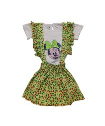 New Stylist Mickey Mouse Design Dangri Dress For Baby Girls