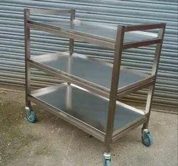 Stainless Steel Serving Trolleys
