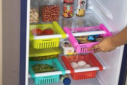 Fridge organizer drawers