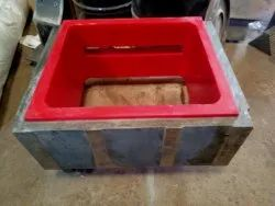 PU Sand Mould, For Industrial, Shape: Rectangle