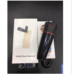 Black ABS Plastic Mobile Phone Telescope