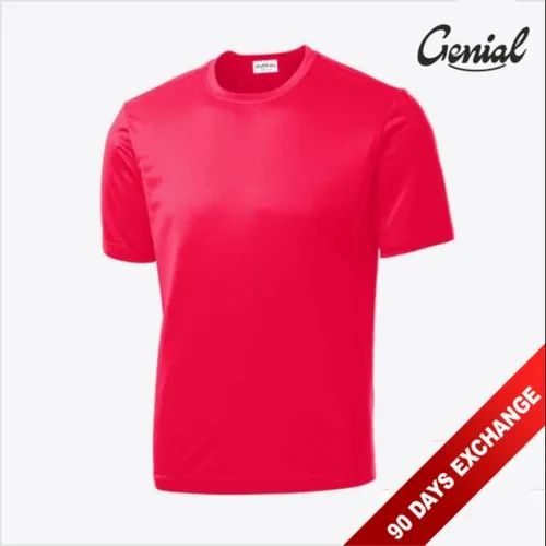 Micro Polyester Rice Net T-Shirt