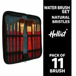 Water Brush Set Natural Bristles