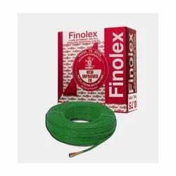 4 Sq Mm Finolex Flame Retardant PVC Insulated Green Cable