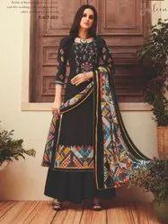Alok Jasleen Woolen Pashmina Suits Wholesaler