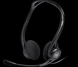 Black Logitech H370 USB Headset With Mic, Mute, Volume Ctrl