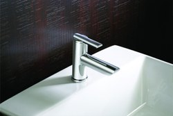 Dulcet Round Silver Brass Pillar Cock Tap, For Bathroom Fitting