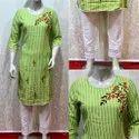 Printed S-xxl Ladies Party Wear Designer Cotton Kurti