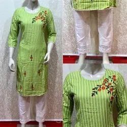 Ladies Party Wear Designer Cotton Kurti