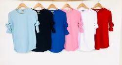 Lycra Mens Full Sleeve Plain T-Shirt