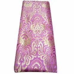 100% Silk 44 Inch Fancy Brocade Fabric