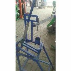 Blue Tender Coconut Cutting Machine