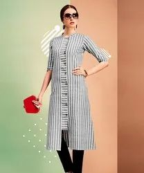 XL Designer Cotton Kurti, Wash Care: Handwash