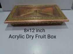 8x12 Inch Acrylic Dry Fruit Box