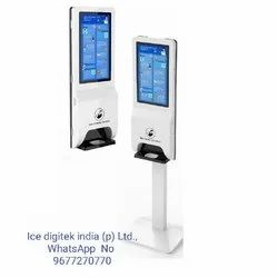 Oem Design Hand Sanitizer Dispenser Multi-Function Face Recognition Camera