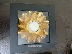 Diwali Decorative Metal Diya with Gift Box